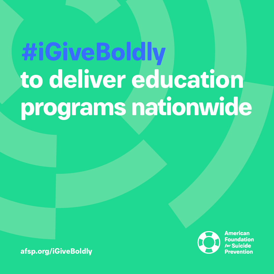 #iGiveBoldly to deliver education programs nationwide #GivingTuesday