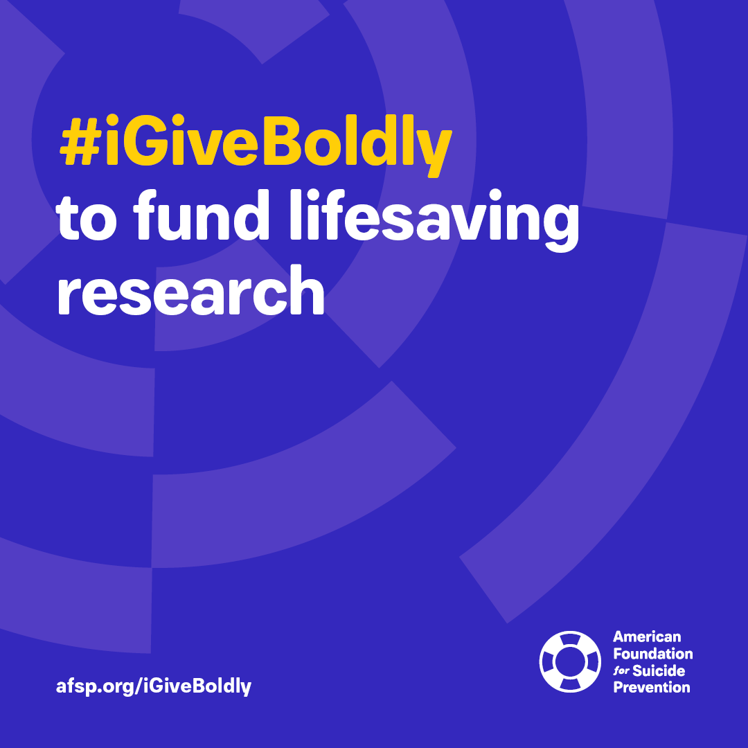#iGiveBoldly to fund lifesaving research #GivingTuesday