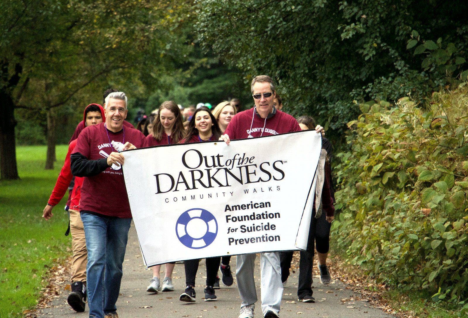 West Essex Out of the Darkness Walk AFSP