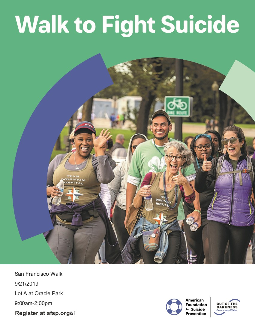 Printable SF Walk Flyer