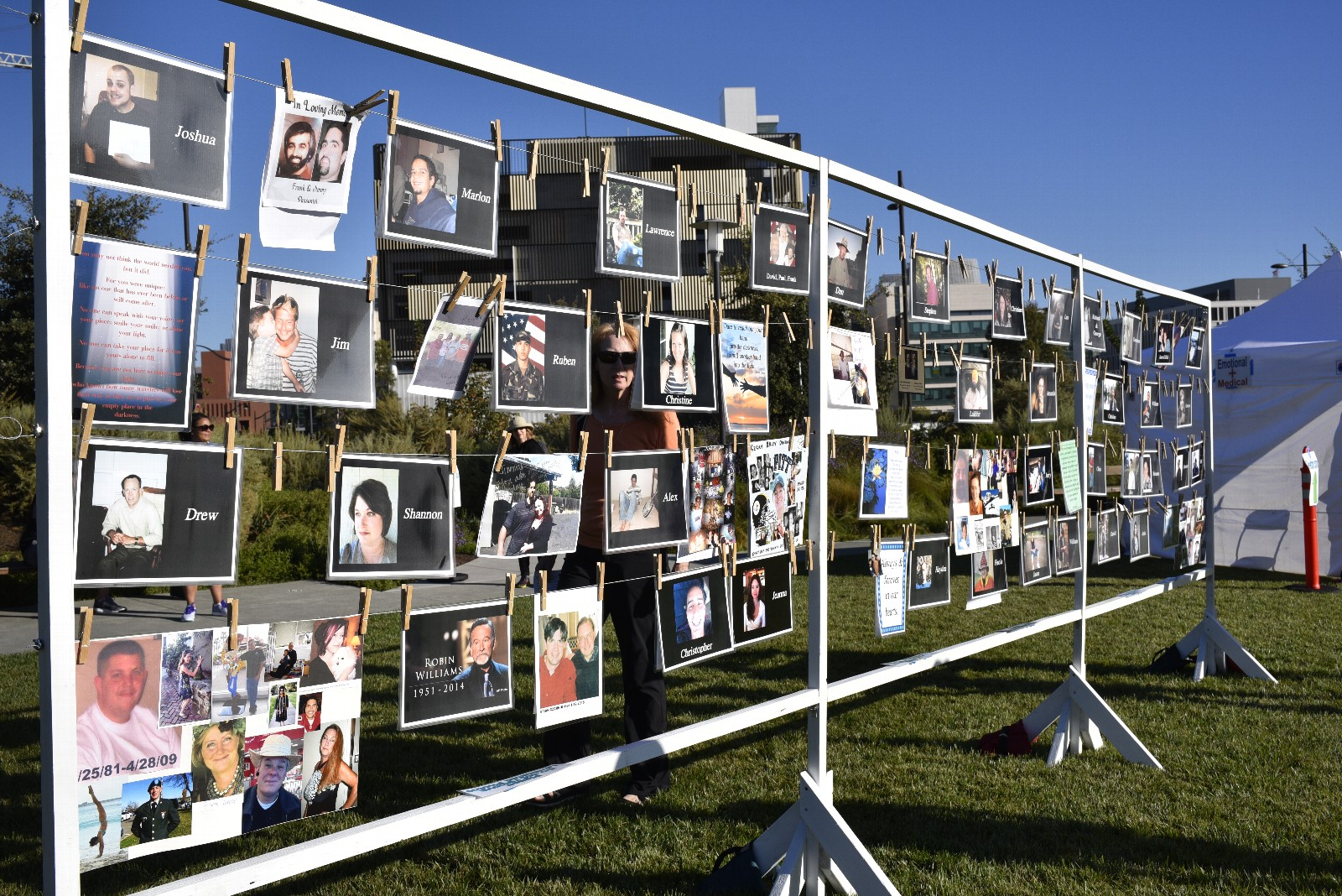 Photo Wall with photos
