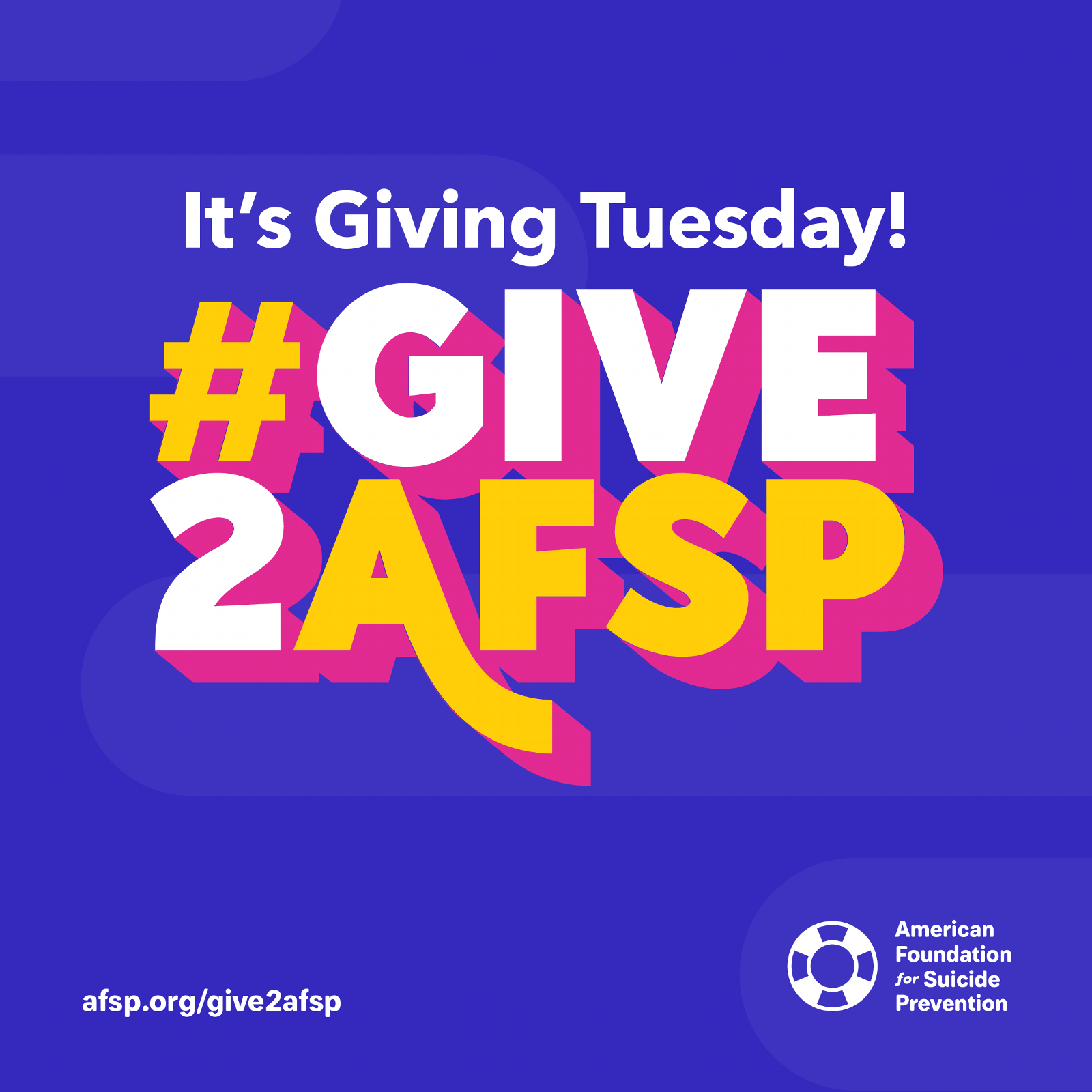 It's Giving Tuesday! #Give2AFSP