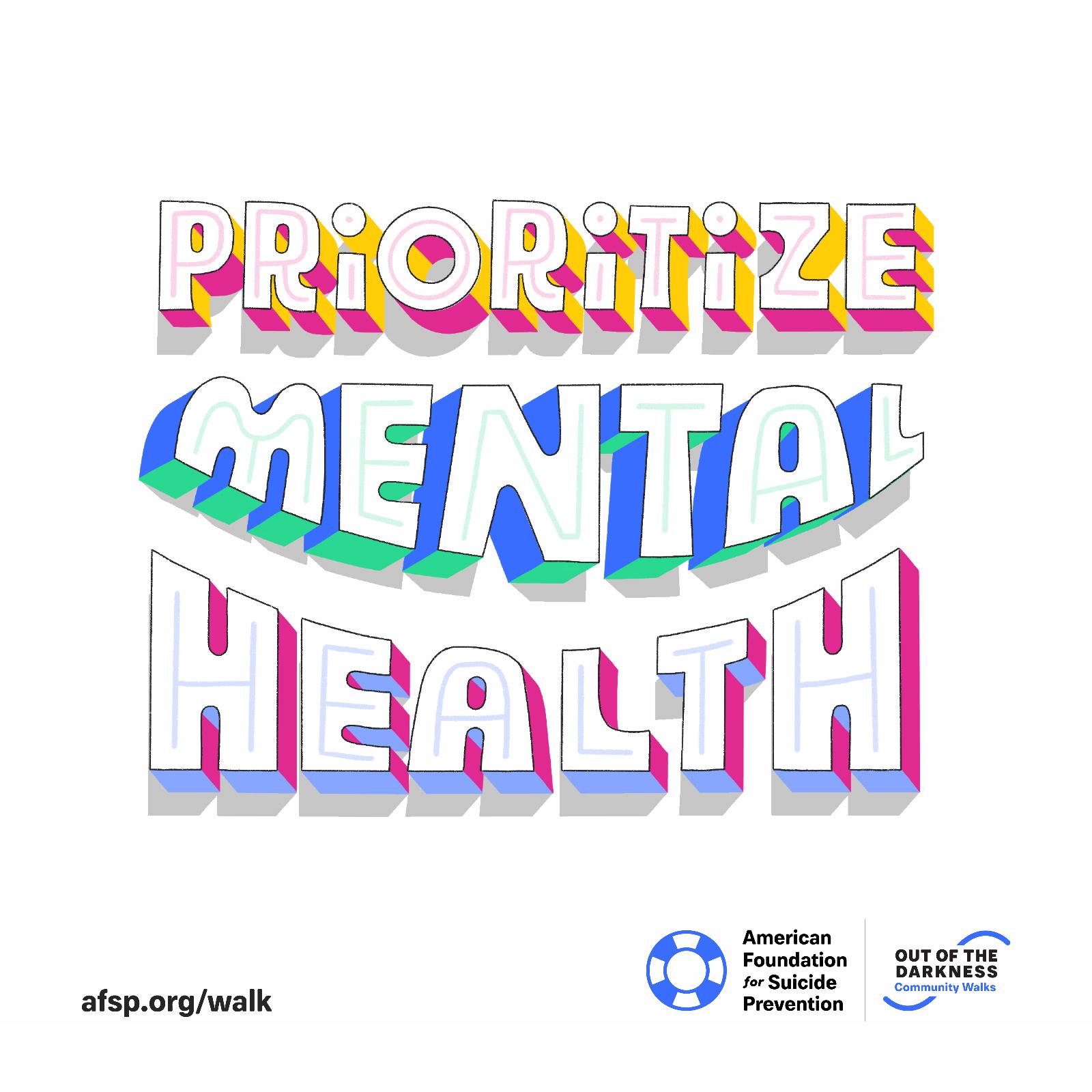 Prioritize Mental Health