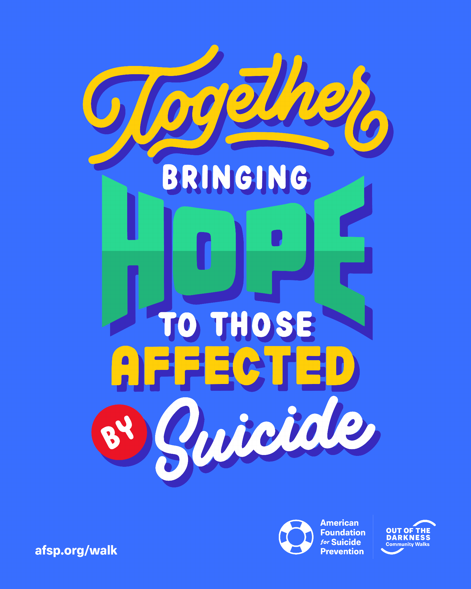 Together Bringing Hope to Those Affected By Suicide