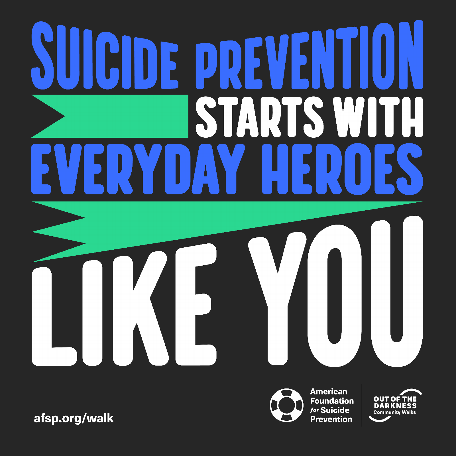 Suicide Prevention Starts with Everyday Heroes Like You