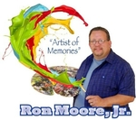Ron Moore, Jr. Art Studio