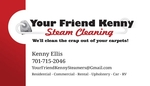 Your Friend Kenny Steam Cleaning