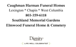 Caughman - Harman Funeral Home