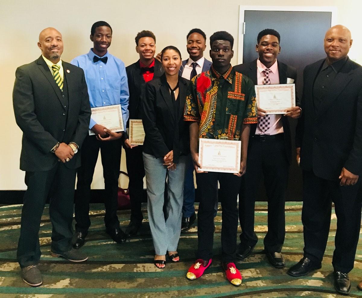 2018 Withrow Kappa Alpha Psi scholarship winners 863d64815bdcf