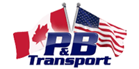 P&B transport Logo