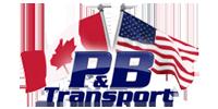 P&B transport Logo