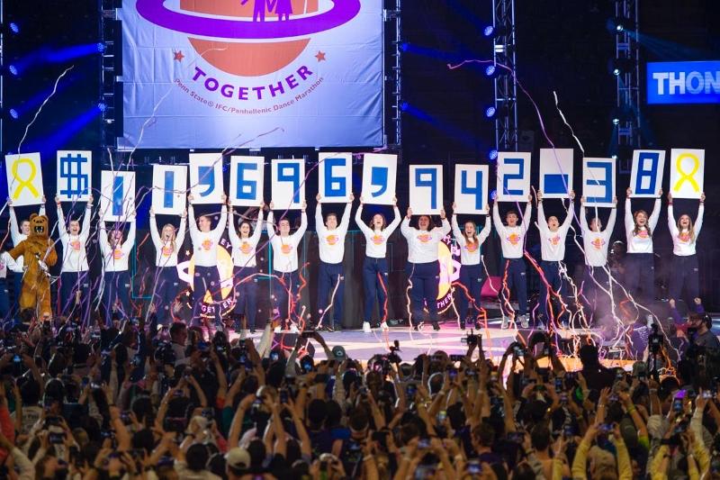 THON 2020 total revealed | THON | Penn State | Daily Collegian |  collegian.psu.edu