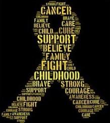 Image result for childhood cancer ribbon