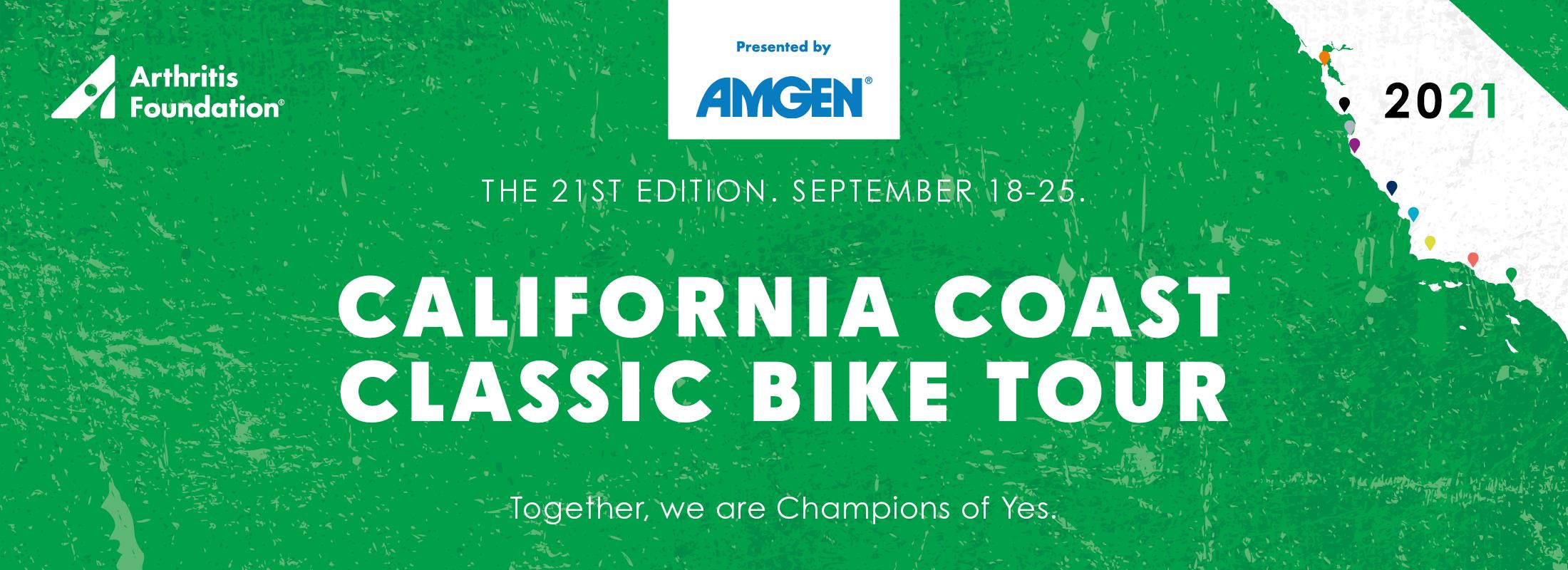 2021 California Coast Classic Bike Tour