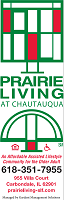 Prairie Living at Chautauqua