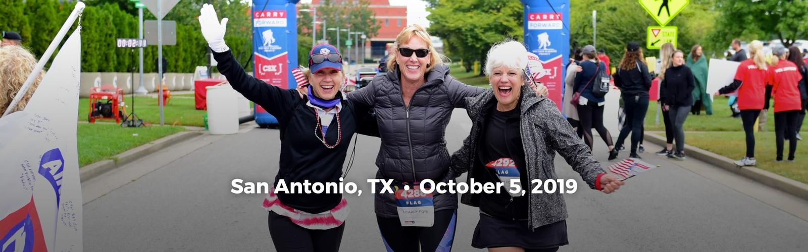 Carry Forward 174 5k Run Walk San Antonio Wwp
