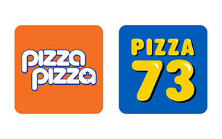 Pizza Pizza and Pizza 73 logos