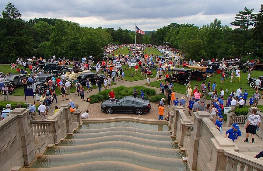 Cincinnati Car Show: Cincinnati Concours D'Elegance