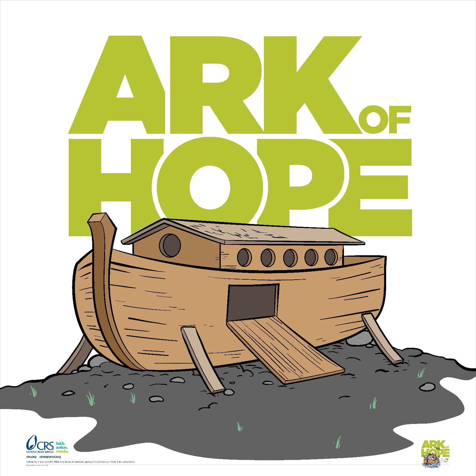 click here to download the crs ark of hope poster printing