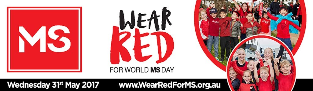 Wear Red For MS