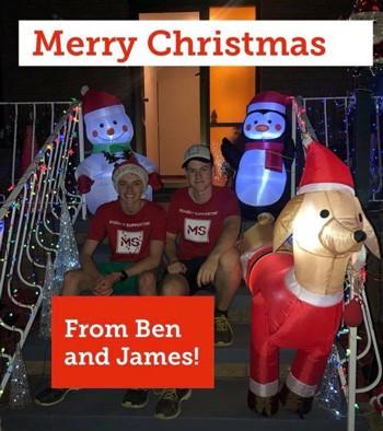 Ben and James