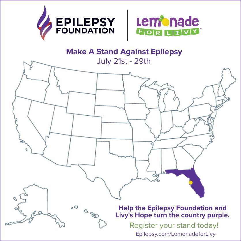 Lemonade for Livy Map