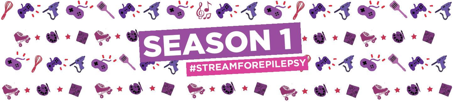 #StreamforEpilepsy Season One| Epilepsy Foundation