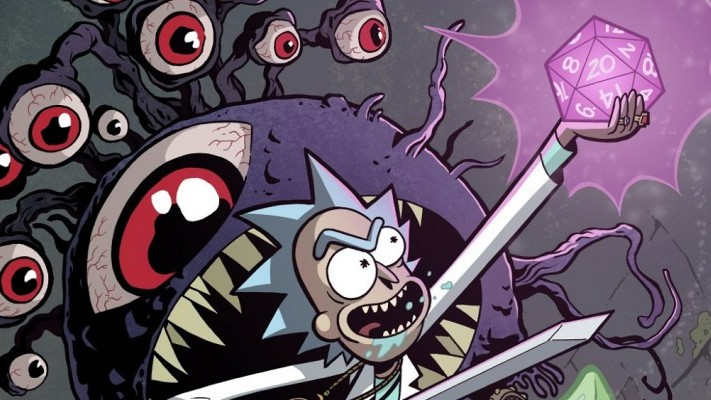 C2E2 '18: IDW's summer line up includes new BIG HERO 6 comic and RICK AND MORTY/D&D crossover