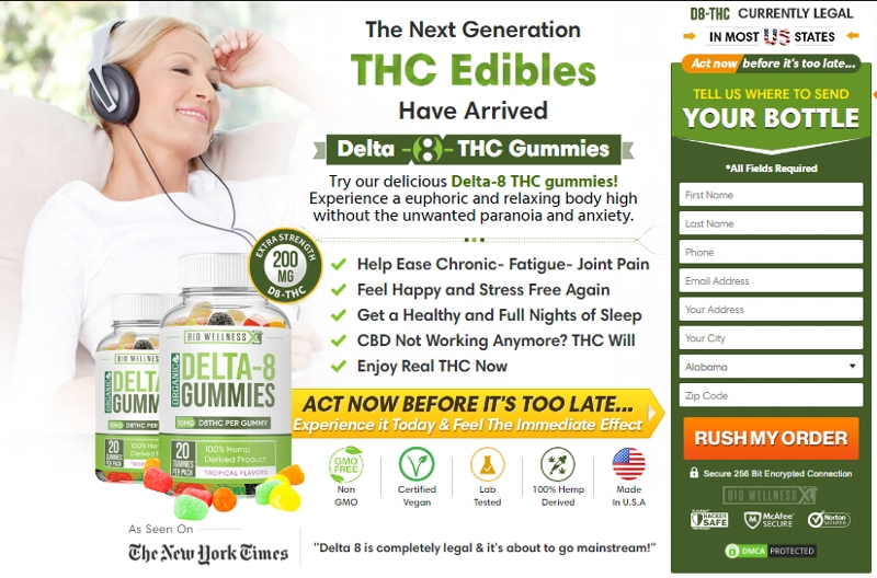 BioWellness Delta 8 Gummies - Fundraising For Feeding America