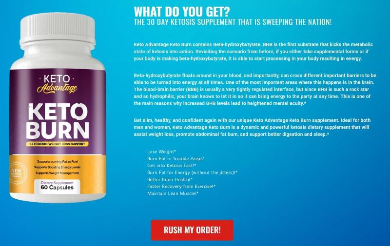 Keto Advantage Keto Burn Supplement - Is It Really Best Fat Burner For  Women? | homify