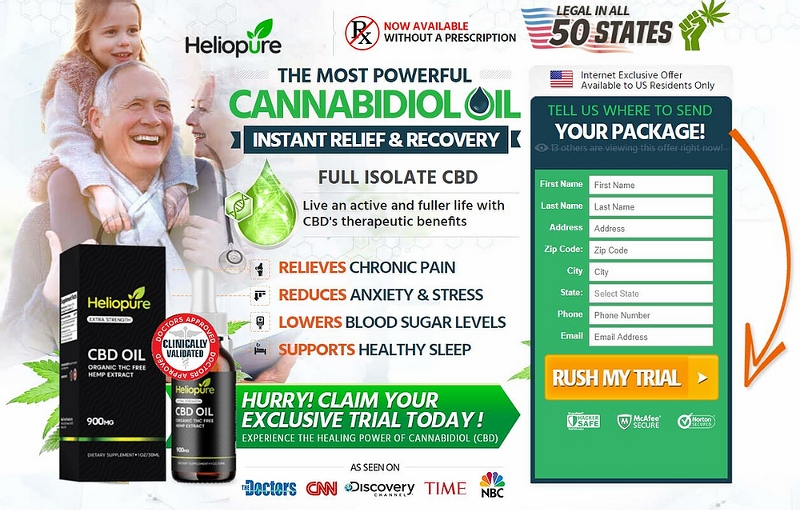 How Much HelioPure CBD Oil Is Effective & Worthy To Buy?