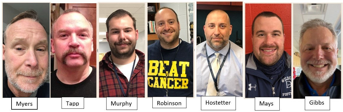 DAHS No Shave November for Mini-THON