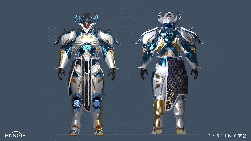 Dawning 2020 Titan Universal Ornament Concept Art