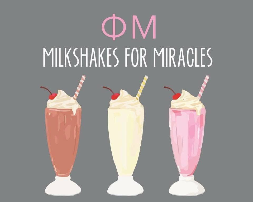 MILKSHAKES FOR MIRACLES