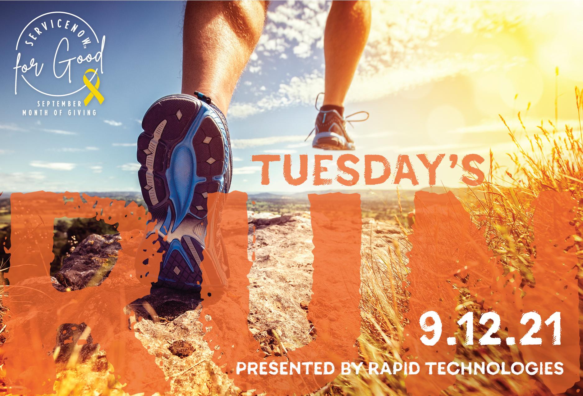 Virtual 5k - run or walk with us!