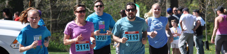 London Run for Ovarian Cancer