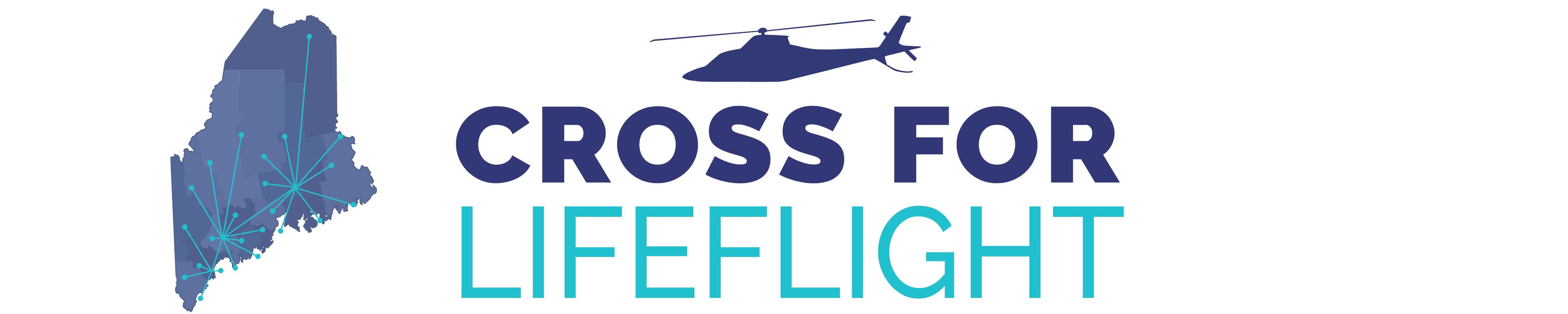 Cross for Lifeflight Logo