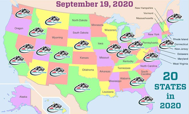 Challengers participate from 20 states in 2020