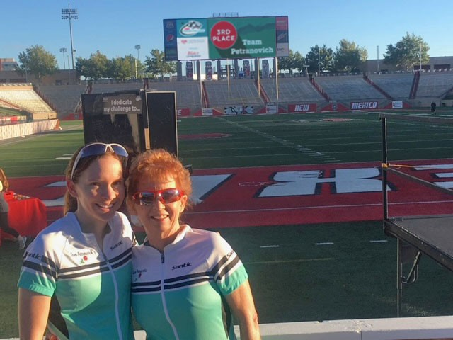 Colleen and Marilee Petranovich at the 2018 Lobo Cancer Challenge
