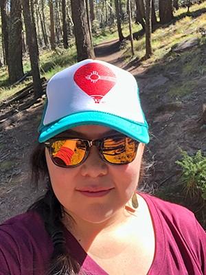 Lobo Cancer Challenge Ambassador Dakotah Jim