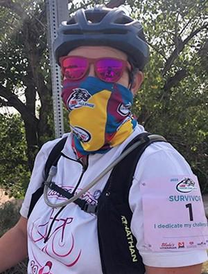 Lobo Cancer Challenge Ambassador Elyse Eckart