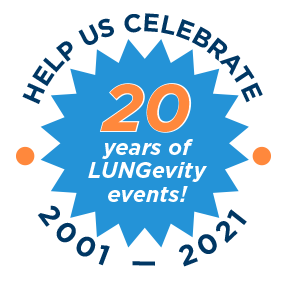 Celebrating 20 years of LUNGevity events