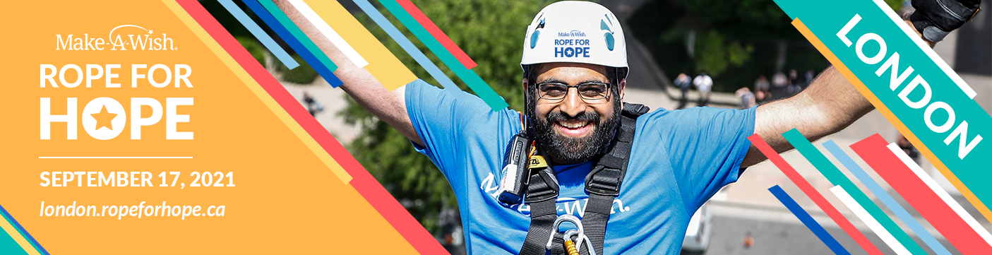 Make-A-Wish Rope for Hope London