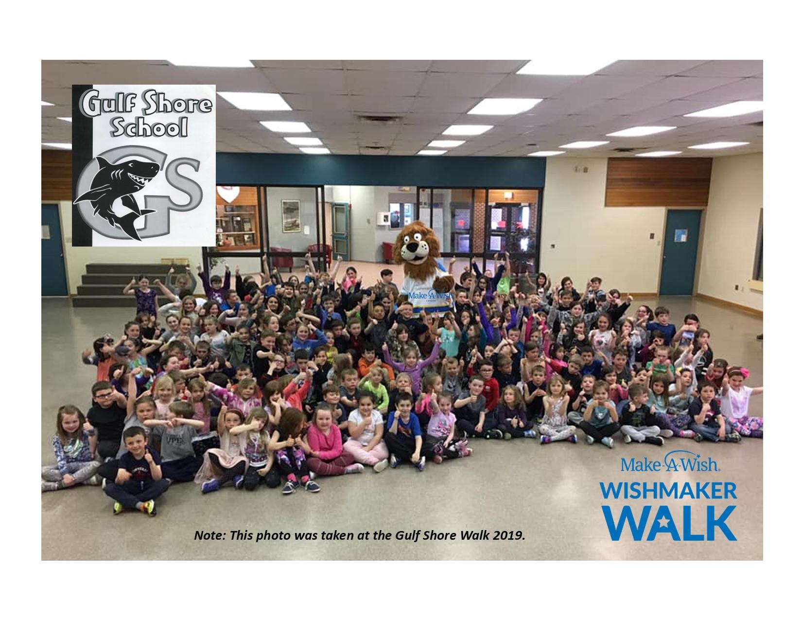 Wishmaker Walk Gulf Shore School
