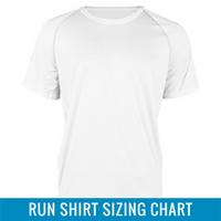 Run Shirt Sizing