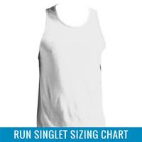 Running Singlet Sizing