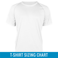 Event T-Shirt Sizing
