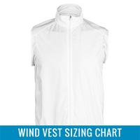 Wind Vest Sizing