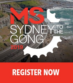 Register for the MS Gong Ride