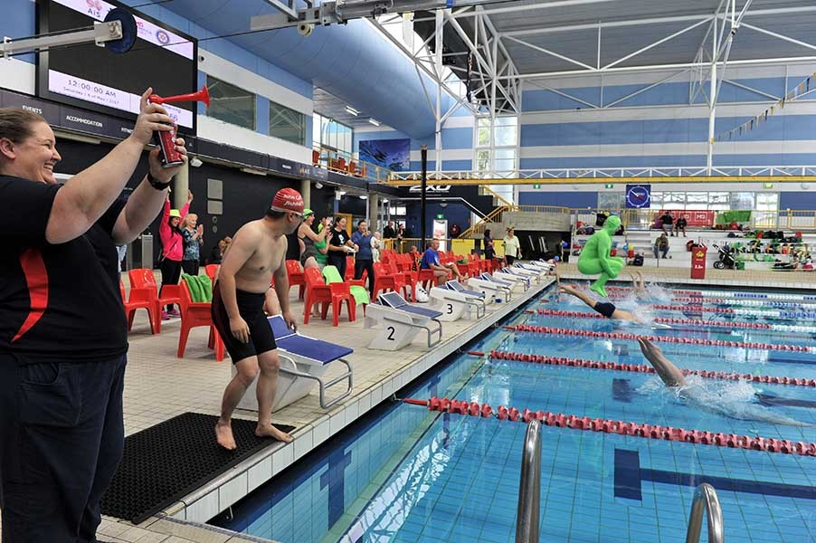 2020 MS 24 Hour Mega Swim Canberra